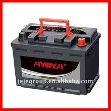 Maintenance Free Car Battery MF57220 12V72AH AYOYA