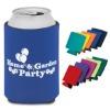 hotselling custom neoprene foldable can holder, bottle cooler