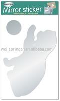mirror sticker / wall sticker / home sticker mirror 0801