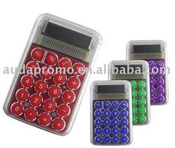 plastic mini calculator