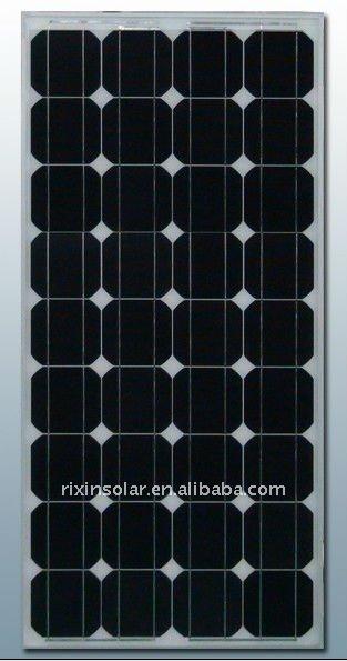 High Efficiency CE 12V 80W Monocrystalline solar panel manufacturer Product