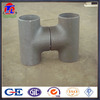 carbon steel astm wpb a234 equal or reducing seamless tee/straight and unequal tee