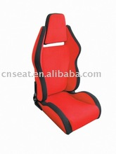 PVC leather or Fabric Adjustable Racing Car Seat