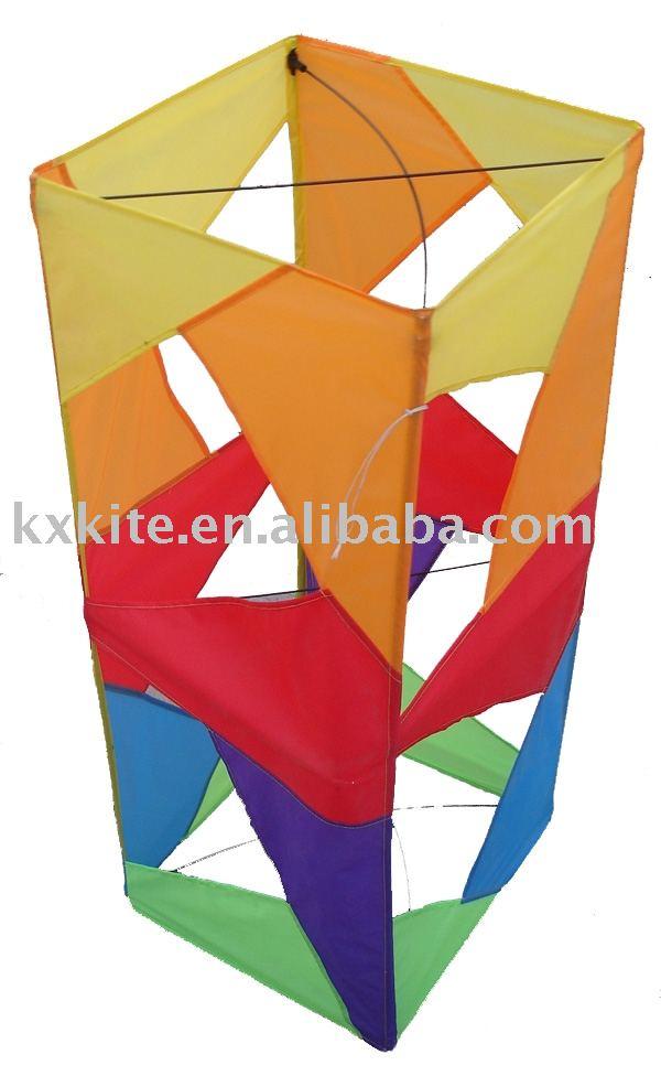 3d Box Kite View 3d Kite