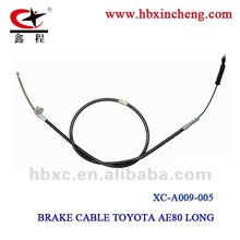 auto brake cable for TOYOTA AE80 LONG