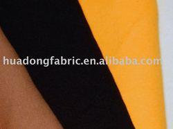 cotton / polyester dyed rib knitting fabric