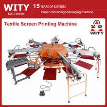 Multi-color Automatic Textile Screen Printing Machine