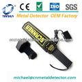 Detector de metales de mano recargable TX-1001B