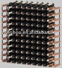 110 bottles wooden wine shelf,wooden wine rack,wooden wine bottle holder/rack/