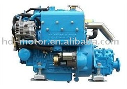 Inboard marine diesel engine for yacht , sail boat