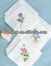 emb handkerchiefs