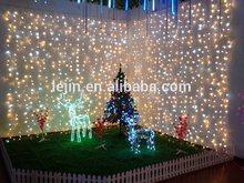 led christmas curtain light for wedding decoration curtain light