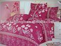 Poliéster impreso juegos de cama / hoja de cama / colcha / almohada
