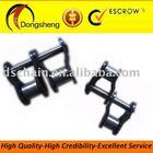 Duplex offset roller chain link