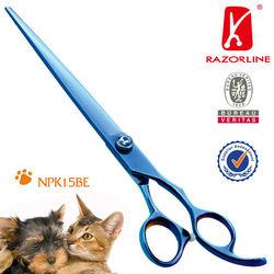 NPK15BE SUS440C Pet Scissors For Professional Pet Grooming Dog Scissors