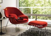 classic fiberglass womb chair& ottoman HC051