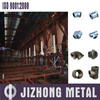 Malleable iron pipe fittings, hot dipped galvanized, according with ISO7/1
