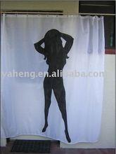 PVC shower curtain(chrismax hot sale product)