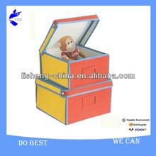 Home Folding Natural Canvas Storage Box