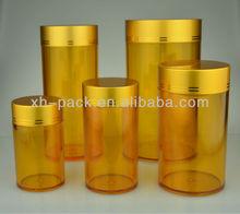 95ml aluminum cap plastic cosmetic packaging container (XH03)