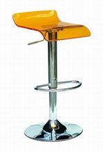 Plastic acrylic bar stool