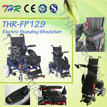 Professional electric stand up wheelchair