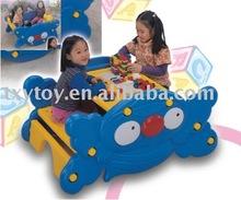 Children furniture two-in-one plastic desk LT-2169A