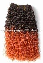 two tone synthetic ombre marley hair braid, kanekalon jumbo braid