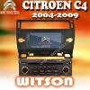 WITSON Special Car DVD Player For CITROEN C4/C-Quatre/C-Triumph CAR DVD WITH GPS with FM,AM,RDS