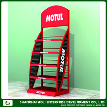 ML-12032 select racking/ metal racking for lubricant oil/supermarket displays stands for motorcycle oil