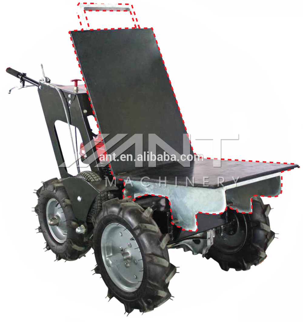 énergie brouette BY250 mini tombereau camion, chargeur de jardin