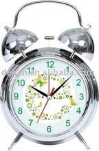 unique metal twin bell alarm clock