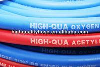 EN 559 standard oxygen and acetylene hose rubber twin welding hose