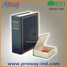 Metal deversion book Safe,book safe manufacturer