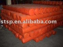 pe tarpaulin orange plastic sheets in roll