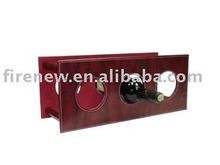 Leather Wine Holder, PU Leather WIne Carrier, Faux Leather Wine Rack