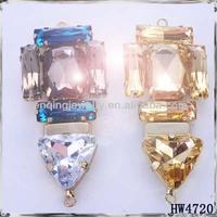 Fashion Glass Beads shoe buckle , acrylic shoe accessory