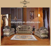 Arabic classic style fabric sofa set 3+2+1 3041# sofa