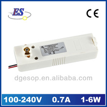 6W AC-DC Constant Current Track Adaptor