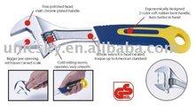bent handle Adjustable wrench 3