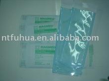 Self sealing sterilization pouch