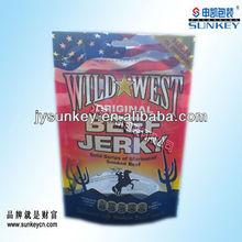 England Zipper beef jerky packaging bag