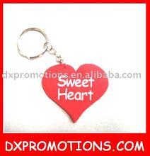 heart keyring for valentine gift/heart shape keyring