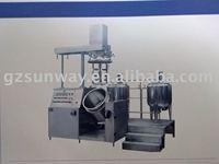 vacuum mixer homogenizer