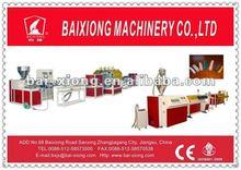 PP/ PE /PVC corrugated pipe machine