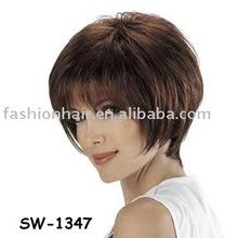 2013 Summer fashion pre bonded short lady wig(SW-1347)