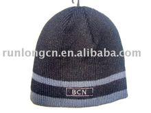 boy's knitted stripe crochet minion hat minion beanie hat