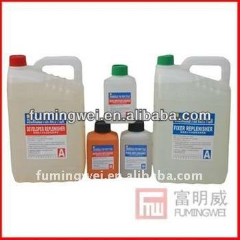 x ray film(chemicals developer & fixer)