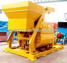 concrete mixer,construction machinery, Twin horizontal shaft concrete mixer manufacturer