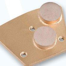 Diamond Grinding Wedge for Concrete with Round Segment---COBJ